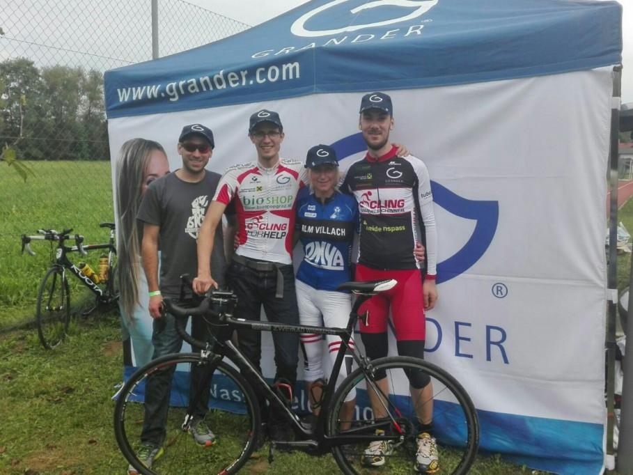 Das erfolgreiche Cycling Team GRANDER® Wasserbelebung