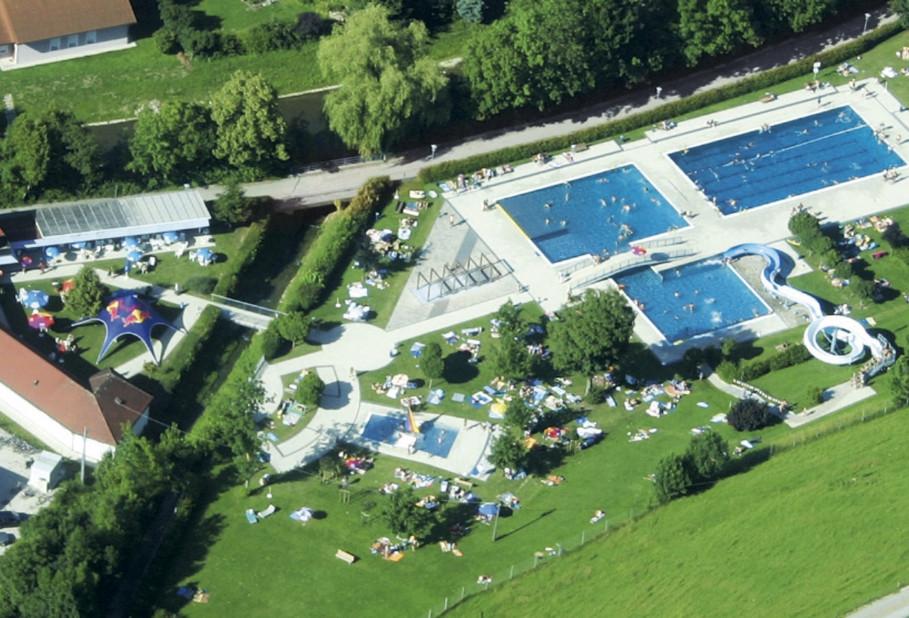 Schwimmbad Grieskirchen - familienfreundliches Erholungsbad