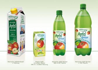 Höllinger Apfelsaft - ein Geschenk der Natur - zu 100% direkt gepresst