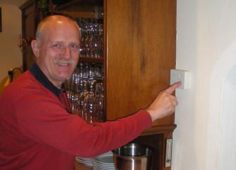 Herr Hauser vom Hotel Tirolerhof konnte dank GRANDER® das Thermostat um 2 Grad zurück drehen ...
