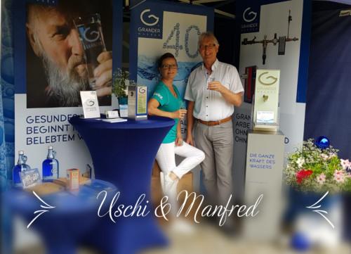 GRANDER® auch auf den 14. Klostermarkttagen im Stift Admont vertreten