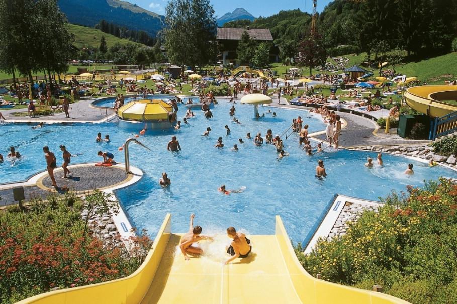 Erlebnisbad Sonnrain - für Erholungssuchende und Abenteuerlustige zugleich