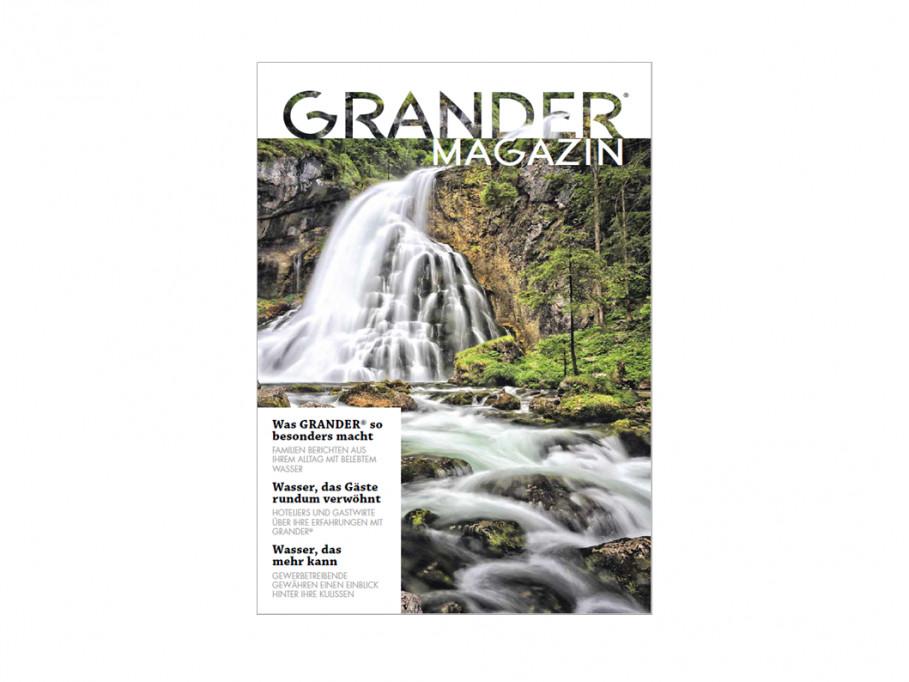 GRANDER®-Magazin jetzt online verfügbar