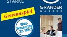 Weltwassertag 2018: GRANDER®-Gewinnspiel