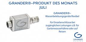 Produkt des Monats: GRANDER®-Wasserbelebungsgeräte flexibel